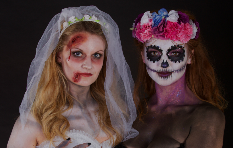 Last Minute Halloween Costumes Ideas Based on Makeup