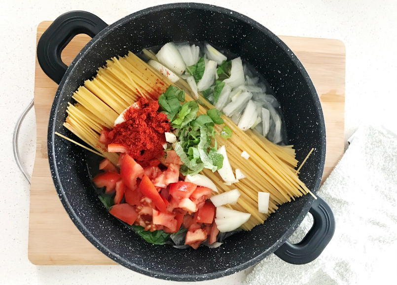 One Pot Pasta – The Easiest It Can Get
