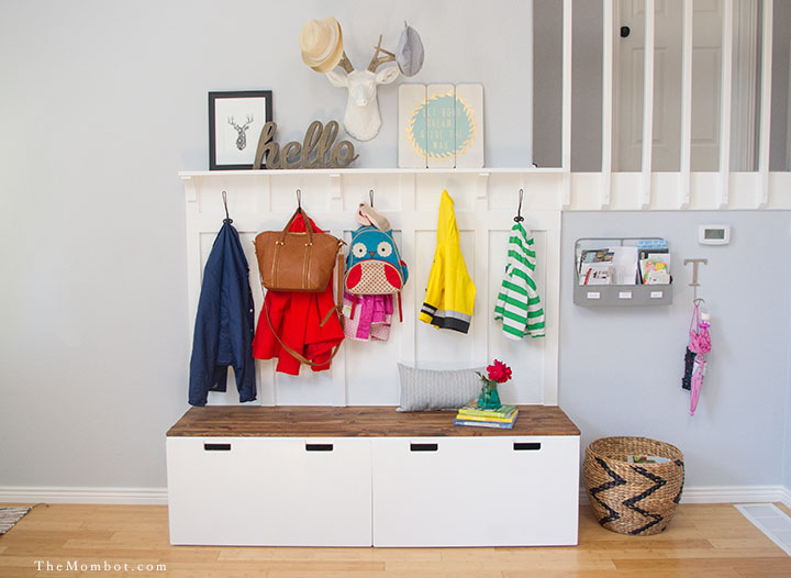 Create A Simple Functional Mudroom With These 5 Items