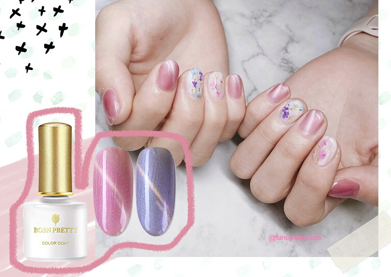 How to Apply Magnetic Nail Polish for Cat Eye Nails?